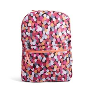 New Vera Bradley Backpack in a pouch